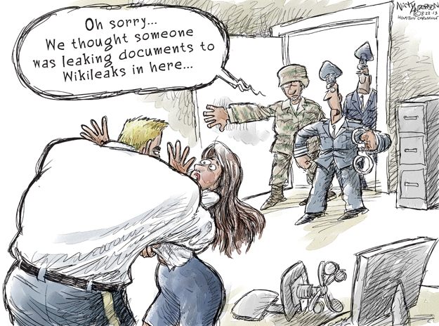Cartoonist Nick Anderson  Nick Anderson's Editorial Cartoons 2013-08-22 assault
