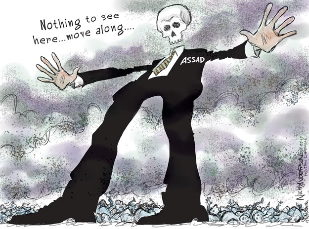 Cartoonist Nick Anderson  Nick Anderson's Editorial Cartoons 2013-08-25 bloody