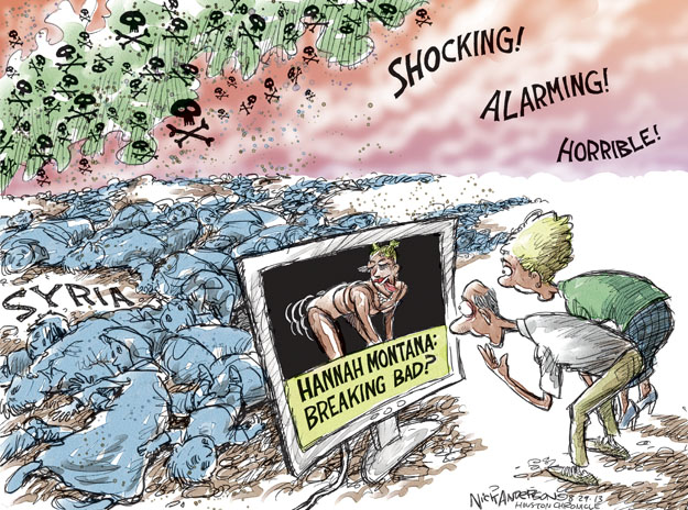 Cartoonist Nick Anderson  Nick Anderson's Editorial Cartoons 2013-08-29 chemical