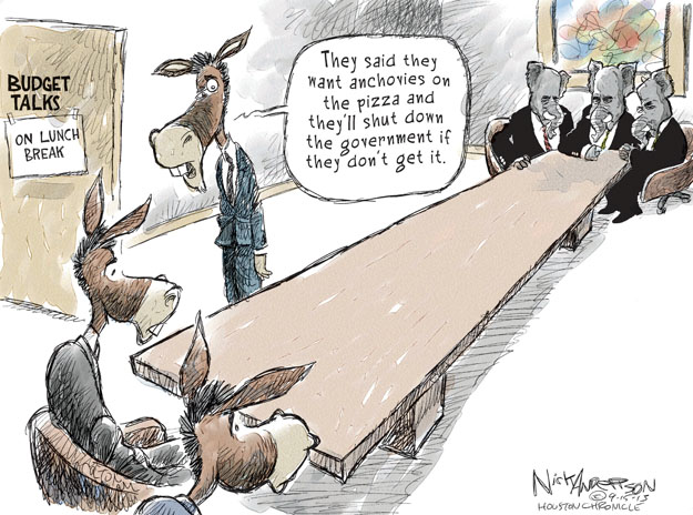 Cartoonist Nick Anderson  Nick Anderson's Editorial Cartoons 2013-09-15 demand
