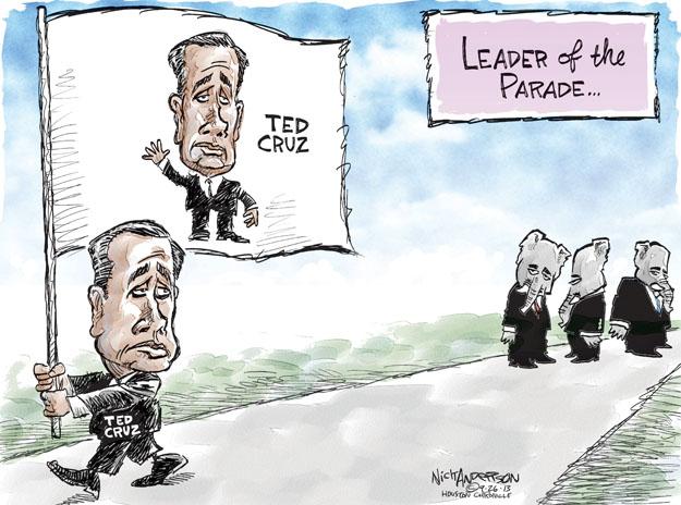 Nick Anderson  Nick Anderson's Editorial Cartoons 2013-09-26 republican party