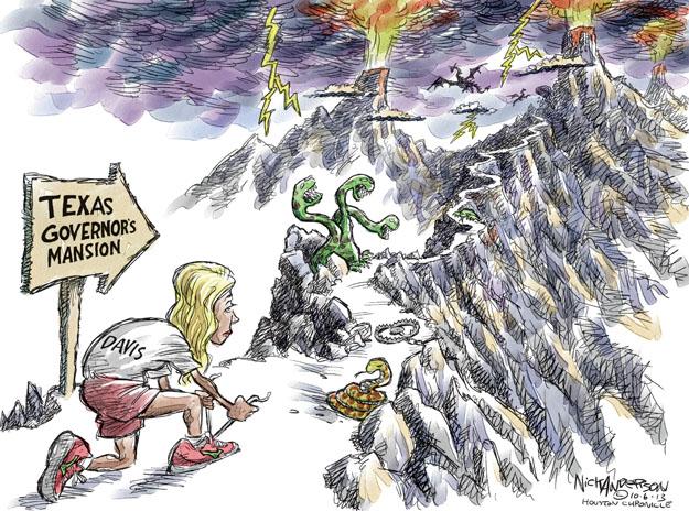 Cartoonist Nick Anderson  Nick Anderson's Editorial Cartoons 2013-10-06 gubernatorial candidate
