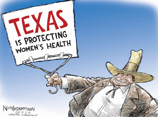 Nick Anderson  Nick Anderson's Editorial Cartoons 2013-11-03 reproductive rights