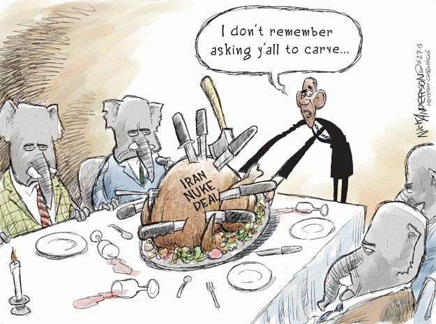 Cartoonist Nick Anderson  Nick Anderson's Editorial Cartoons 2013-11-27 holiday