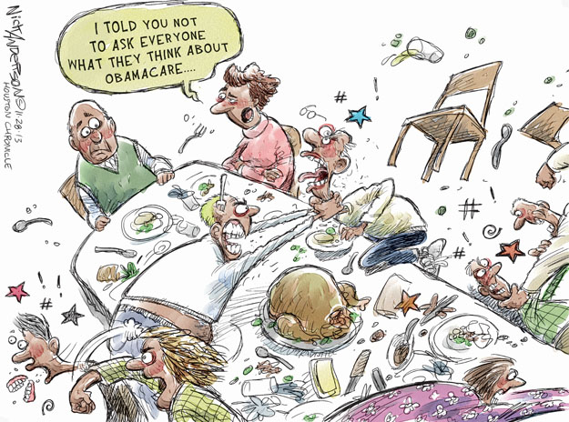 Cartoonist Nick Anderson  Nick Anderson's Editorial Cartoons 2013-11-18 health care policy