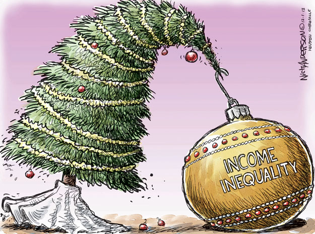 Cartoonist Nick Anderson  Nick Anderson's Editorial Cartoons 2013-12-01 inequality