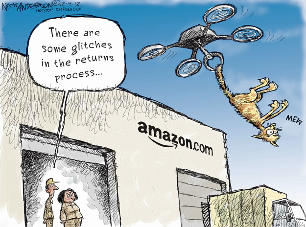 There are some glitches in the returns process � amazon.com. Mew.