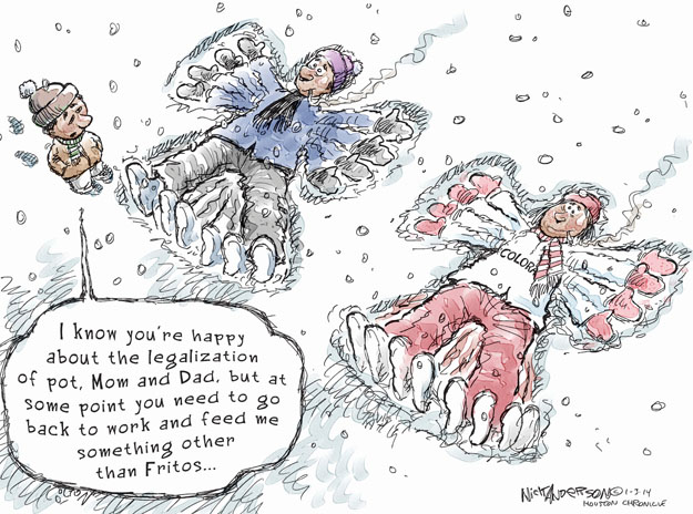 Cartoonist Nick Anderson  Nick Anderson's Editorial Cartoons 2014-01-03 smoking