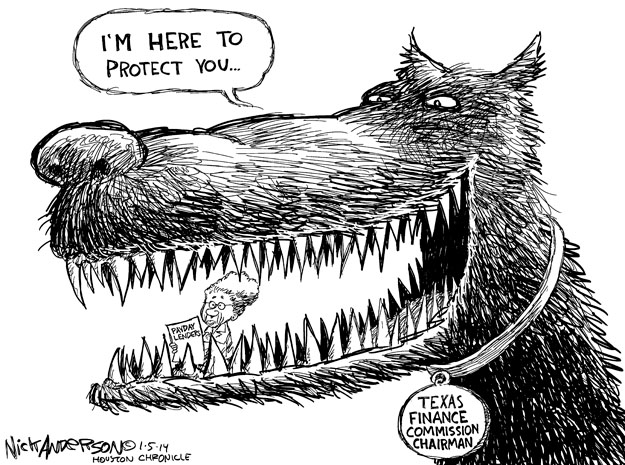 Cartoonist Nick Anderson  Nick Anderson's Editorial Cartoons 2014-01-05 chairman