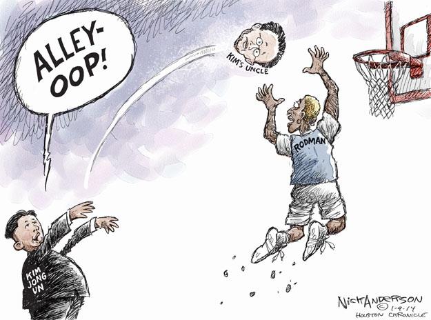 Cartoonist Nick Anderson  Nick Anderson's Editorial Cartoons 2014-01-09 uncle