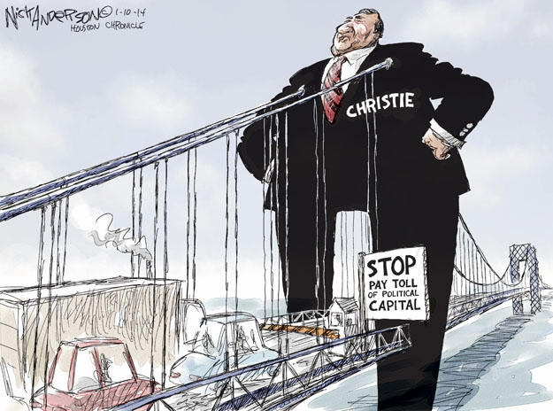 Nick Anderson  Nick Anderson's Editorial Cartoons 2014-01-10 infrastructure