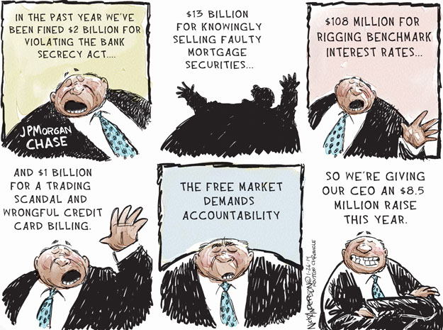 Cartoonist Nick Anderson  Nick Anderson's Editorial Cartoons 2014-01-26 million