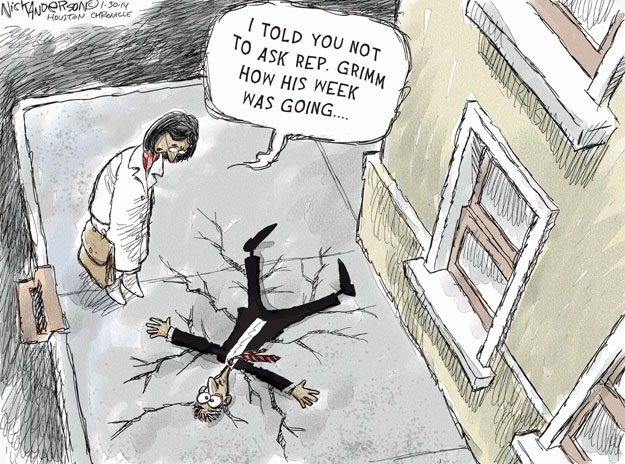 Cartoonist Nick Anderson  Nick Anderson's Editorial Cartoons 2014-01-30 Michael