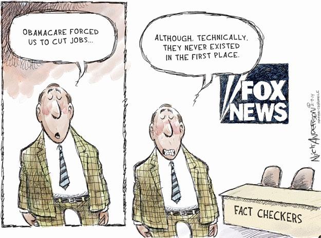 Cartoonist Nick Anderson  Nick Anderson's Editorial Cartoons 2014-02-09 policy