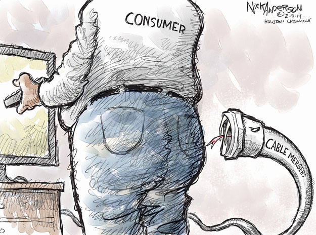 Cartoonist Nick Anderson  Nick Anderson's Editorial Cartoons 2014-02-18 time