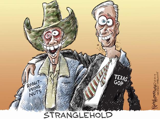 Nick Anderson  Nick Anderson's Editorial Cartoons 2014-02-19 republican party