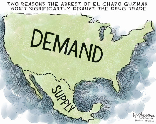 Cartoonist Nick Anderson  Nick Anderson's Editorial Cartoons 2014-02-26 demand