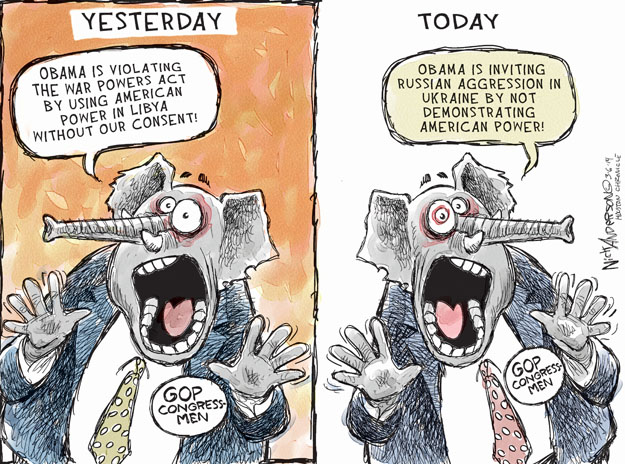 Cartoonist Nick Anderson  Nick Anderson's Editorial Cartoons 2014-03-06 policy