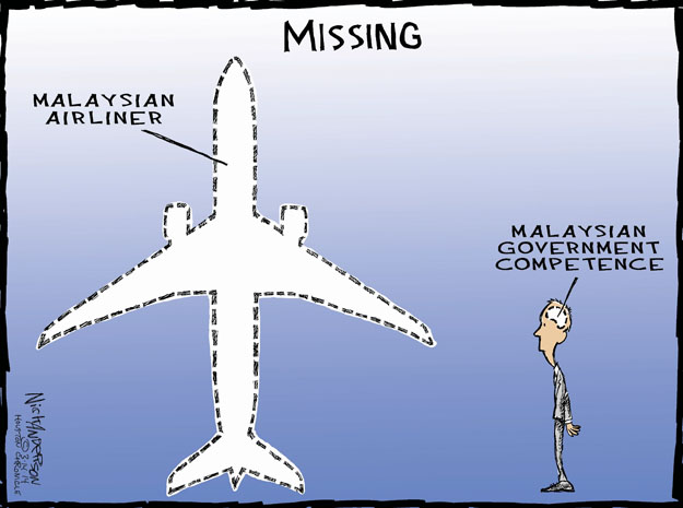 Cartoonist Nick Anderson  Nick Anderson's Editorial Cartoons 2014-03-14 aviation