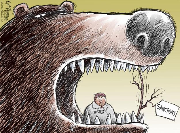 Nick Anderson  Nick Anderson's Editorial Cartoons 2014-03-18 presence
