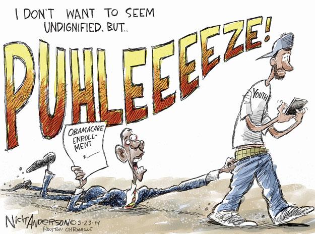 Cartoonist Nick Anderson  Nick Anderson's Editorial Cartoons 2014-03-23 policy