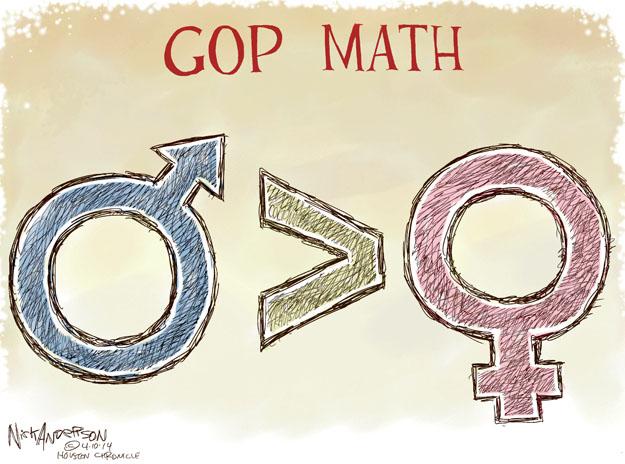Nick Anderson  Nick Anderson's Editorial Cartoons 2014-04-10 political party