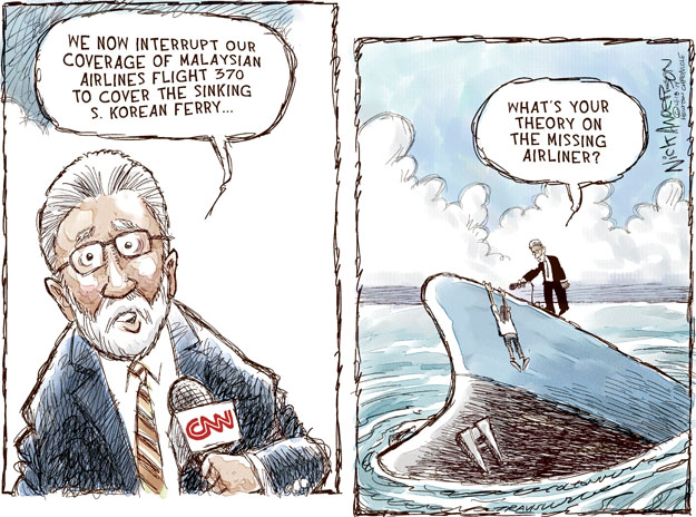 Cartoonist Nick Anderson  Nick Anderson's Editorial Cartoons 2014-04-18 cable news
