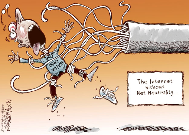 Cartoonist Nick Anderson  Nick Anderson's Editorial Cartoons 2014-05-16 technology