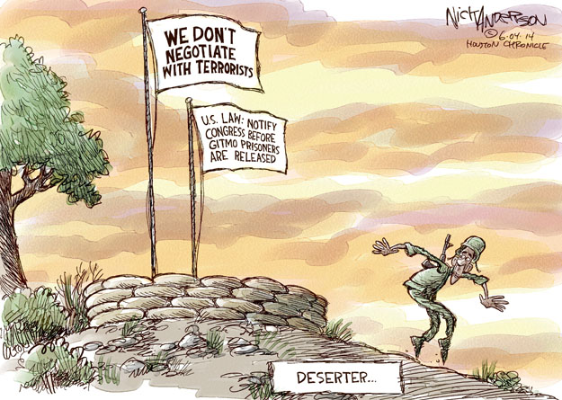 Nick Anderson  Nick Anderson's Editorial Cartoons 2014-06-04 military strategy