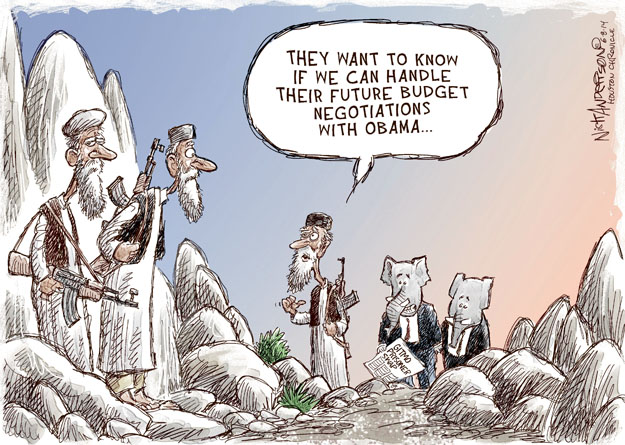 Nick Anderson  Nick Anderson's Editorial Cartoons 2014-06-08 military strategy
