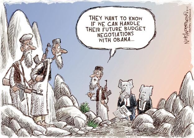 Cartoonist Nick Anderson  Nick Anderson's Editorial Cartoons 2014-06-08 policy
