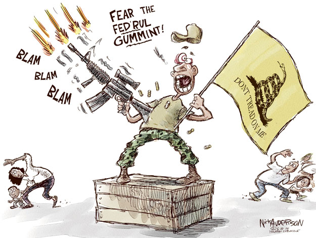 Cartoonist Nick Anderson  Nick Anderson's Editorial Cartoons 2014-06-10 tea party