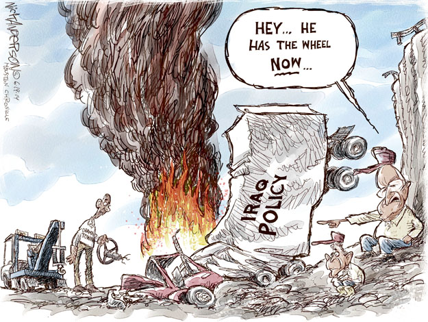 Cartoonist Nick Anderson  Nick Anderson's Editorial Cartoons 2014-06-19 Dick Cheney