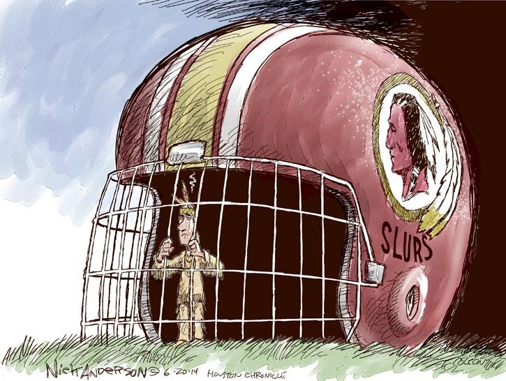 Cartoonist Nick Anderson  Nick Anderson's Editorial Cartoons 2014-06-20 name