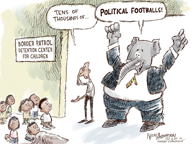 Nick Anderson  Nick Anderson's Editorial Cartoons 2014-06-25 detainee