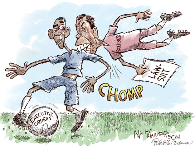 Cartoonist Nick Anderson  Nick Anderson's Editorial Cartoons 2014-06-27 speaker