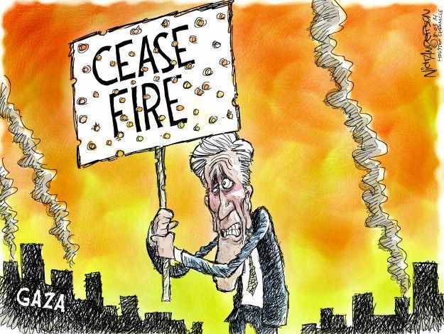 Nick Anderson  Nick Anderson's Editorial Cartoons 2014-08-03 international conflict