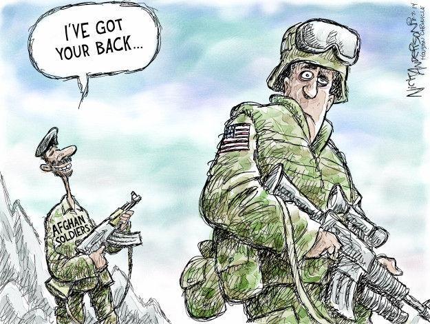 Cartoonist Nick Anderson  Nick Anderson's Editorial Cartoons 2014-08-07 armed