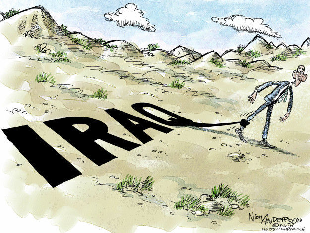 Cartoonist Nick Anderson  Nick Anderson's Editorial Cartoons 2014-08-10 Iraq