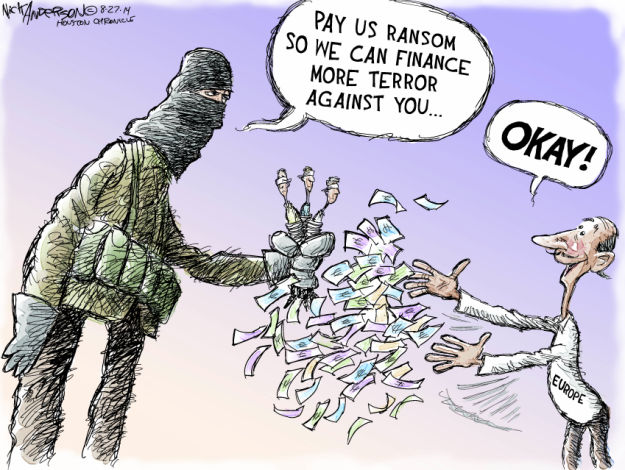 Cartoonist Nick Anderson  Nick Anderson's Editorial Cartoons 2014-08-27 terrorism