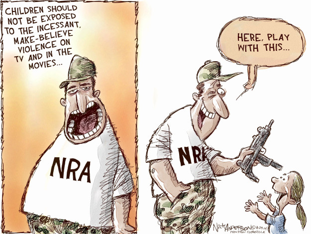 Nick Anderson  Nick Anderson's Editorial Cartoons 2014-08-29 childhood
