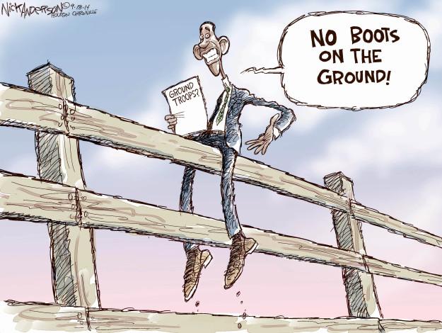 Cartoonist Nick Anderson  Nick Anderson's Editorial Cartoons 2014-09-18 Iraq