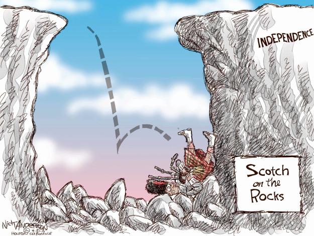 Cartoonist Nick Anderson  Nick Anderson's Editorial Cartoons 2014-09-21 nationalism