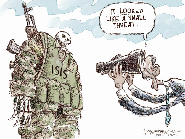 Cartoonist Nick Anderson  Nick Anderson's Editorial Cartoons 2014-09-30 extremism