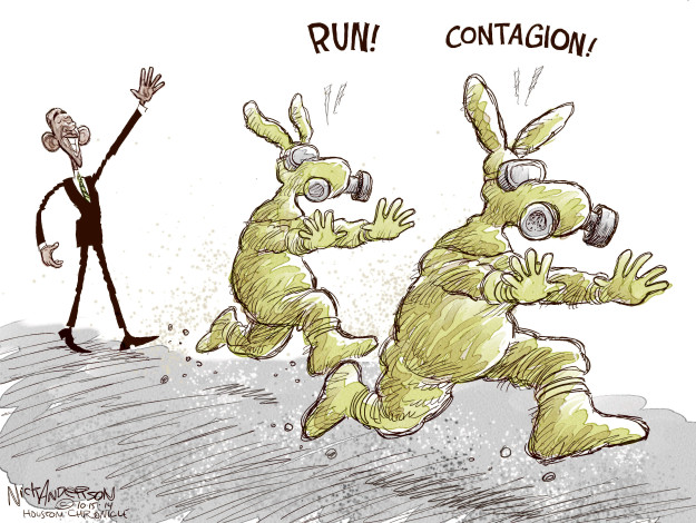 Nick Anderson  Nick Anderson's Editorial Cartoons 2014-10-15 Obama administration