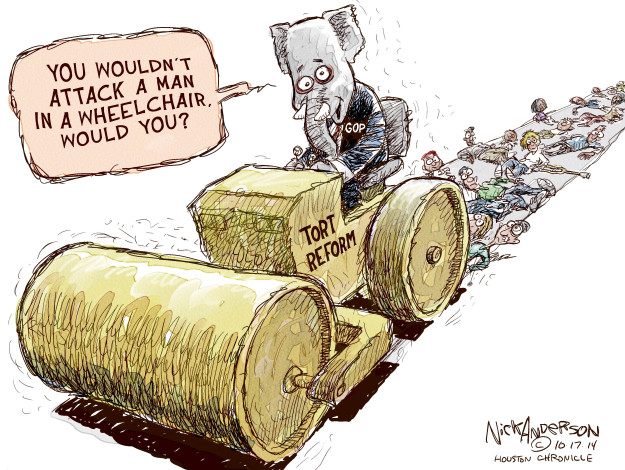 Cartoonist Nick Anderson  Nick Anderson's Editorial Cartoons 2014-10-17 wouldn't