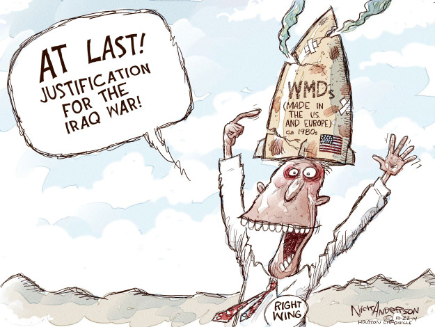 Cartoonist Nick Anderson  Nick Anderson's Editorial Cartoons 2014-10-22 chemical weapon