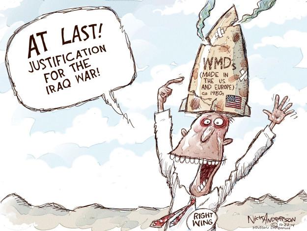 Cartoonist Nick Anderson  Nick Anderson's Editorial Cartoons 2014-10-22 Iraq war