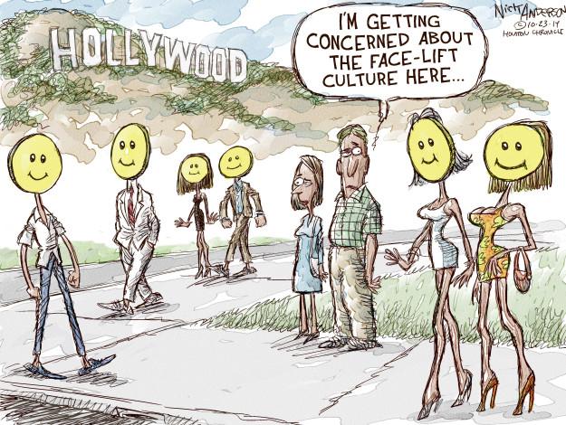 Nick Anderson  Nick Anderson's Editorial Cartoons 2014-10-23 happy