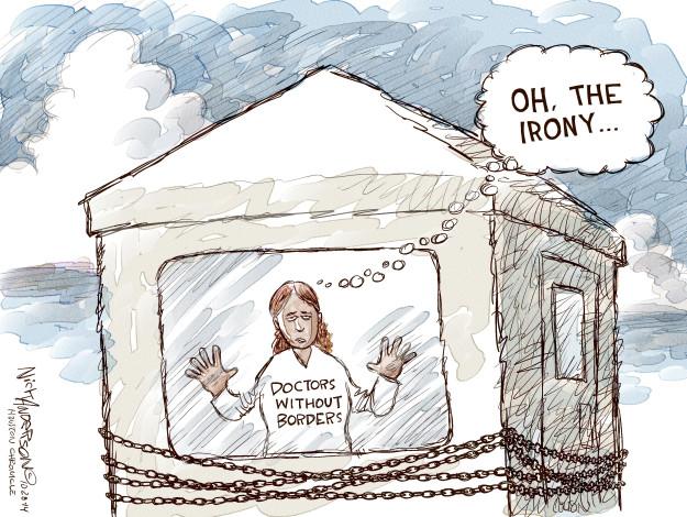 Cartoonist Nick Anderson  Nick Anderson's Editorial Cartoons 2014-10-28 border